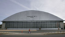 Hangar No. 2 at Lowry in east Denver on March 6, 2007.    For Mary Chandler story about the...