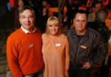 CultureHaus Board of Directors co-chairmen Karl Krafft, Kasia Iwaniczko and Darby Donohue. (STEVE...