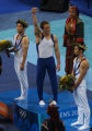 (Athens, Greece  on Wednesday, Aug. 18, 2004) -  American gymnast and men's individaul all-around...