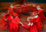 (Denver, Colo., December 1, 2006) A group of Sugarplums go for a spin.  The 2006 Sugarplum Ball in...