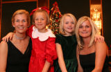 (Denver, Colo., December 1, 2006) Mackenzie and Kim (Sugarplum co-chair) Reifsnider with Alexis...