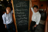 (DLM0165) -   Chef Aung Kyaw, from left, and owner Ma Vue at the US Thai Cafe in Edgewater, Colo....