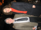 ADL's 2006 Annual Campaign co-chairmen Kenneth Gurrentz and Laura Merage.  (DAHLIA JEAN...
