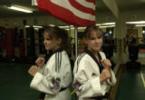 (LITTLETON, Colo. August 19, 2004) Brittany Coyne, 13, is now a 2nd degree junior black belt. She...