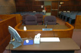 (8/14//2004, Eagle, CO)  This is the courtroom in Eagle, CO that Kobe's pre-criminal trial...