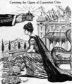Fron the book:  Denver A Pictorial History by William C. Jones and Kenton Forrest A cartoon for...