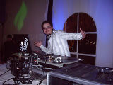 DJ Amen at Chillin' Black Tie benefiting the When I Grow Up Foundation. (DAHLIA JEAN...