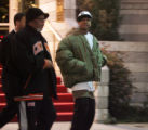 Allen Iverson leaves the Hilton on City Line Avenue Tuesday night, December 19, 2006 in...