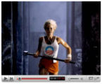 This ad posted on YouTube.com, based on one created by Apple, Inc.,  portrays U.S. Sen. Hillary...