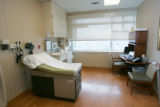 The exam room for the Executive Health Care program at the Anschutz Inpatient Pavilion at the...
