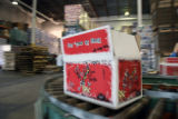 MDTJ102 - SPECIAL FOR ROCKY MOUNTAIN NEWS A case of Flying Dog beer comes of the packaging line...
