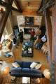 Sponsors for the new HGTV Dream Home in Winter Park, Colorado tour the house on Saturday, March...