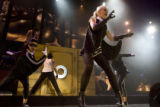 "DLM1969  Gwen Stefani performs her song ""Rich Girl"" at the Pepsi Center Wed., May 2,..."