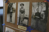 (family provided image): Jack as a boy during the war years dressed in each military uniform to be...
