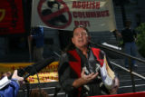 Glenn Morris, (cq) is the A.I.M. (American Indian Movement) of Colorado leader who, with a small...