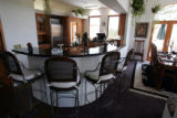 The kitchen in the main home. Anti-virus software pioneer John McAfee plans to auction off a...