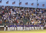 PHOTO BY CHRISTOPHER TOMLINSON/GRAND JUNCTION DAILY SENTINEL--A packed house at Suplizio Field in...