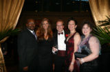 From left, Rico and Kay Munn, Chris Macaulay, Carolynne White and Amy Redfern.