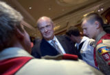 (NYT23) NEWPORT BEACH, Calif. -- May 5, 2007 -- REPUBS-THOMPSON -- Former Sen. Fred Thompson...