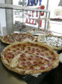 Famous Pizza a landmark on Broadway as we look at two blocks of Broadway, in Denver, Colo.on...