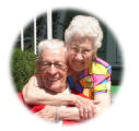 Lloyd and Evelyn Sutton, married 70 years   w/c4cl-gary