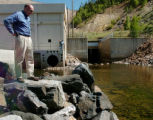 (DILLON Colo., June 22, 2004)  Dave Little, Denver Water's manager of water resource planning,...