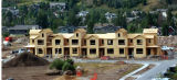(EDWARDS  Colo., August 18,2004)  Town homes under construction at Miller Ranch are already sold...