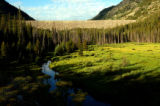 (RED CLIFF COLO., July 15, 2004)  Homestake Creek flows out of the Homestake Dam on a clear...