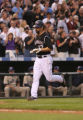 [ES0547] Todd Helton trots home after homering in the third inning. The Colorado Rockies San Diego...