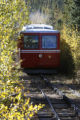 on the Pikes Peak Cog Railway , in Manitou Springs, Colo. Sunday , September 30, 2007. For 115...