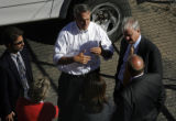 Governor Bill Ritter stopped by the XCel Hydroelectric Plant where five bodies where retrieved...