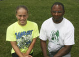 Girls field athlete of the year Kelli Ehardt, Rampart; Girls coach of the year Chuck Dugue, George...