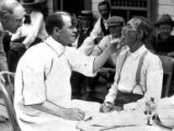 A doctor examines a patient at the Craig Colony (Craig Hospital) a tuberculosis sanitarium in...