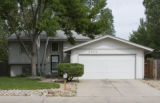 DLM4086  The house at 3504 Marigold Street in Evans, Colo. where 7-year-old LoReyna Barea was...