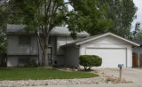 DLM4088  The house at 3504 Marigold Street in Evans, Colo. where 7-year-old LoReyna Barea was...