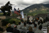 MJM544  Nearly a thousand people took part in The Global War On Terrorism Memorial Ceremony at...
