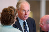 (BOULDER, Colo., May 19, 2004) Dr. Richard Byyny, Chancellor, University of Colorado at Boulder,...
