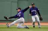 (061307 Boston, MA)  Red Sox Vs Colorado Rockies at Fenway Park.  Colorado Rockies right fielder...