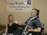 Staff Sergeant Matthew Keil and his wife Tracy, (cq both) held a press conference on Thursday May...