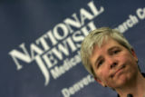 0172 Gwen Ann Huitt M.D., the primary physician for Andrew Speaker, 31, at National Jewish...
