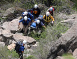 Search teams from Gilpen and Boulder counties recovered the body of a young male from South...