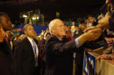 NEW YORK CITY, NY - AUGUST 30, 2004  Vice President Dick Cheney shakes hands with supporters...