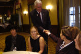 NEW YORK CITY, NY - AUGUST 30, 2004  Pete Coors, candidate for US Senate from Colorado, meets some...
