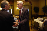 NEW YORK CITY, NY - AUGUST 30, 2004  Pete Coors, candidate for US Senate from Colorado meets with...