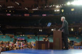 NEW YORK CITY, NY - AUGUST 30, 2004  Pete Coors, candidate for US Senate from Colorado, addresses...