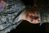 37 year-old Major Andrew Olmsted is part of the1st Brigade, 1st Infantry Division at Fort Riley...