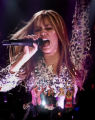 Hannah Montana played at the Pepsi Center in a sold-out concert on October 25, 2007. About 18,000...