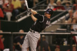 [JPM440]  Brad Hawpe hits a line drive to centerfield in the sixth inning of Colorado Rockies...