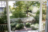 A view from Mary Sweet's porch, one of the cottage houses in the Poplar community in Boulder,...
