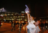 DM1522      outside Coors Field after the Colorado Rockies defeated the Arizona Diamondbacks to...
